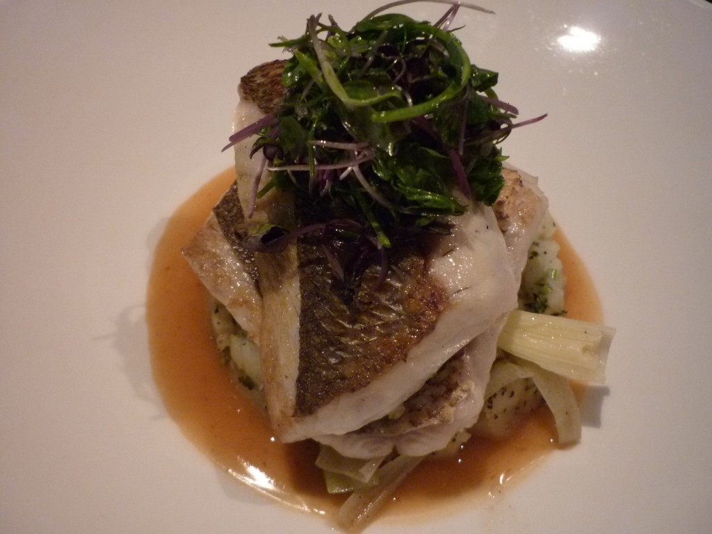 A la carte grey snapper