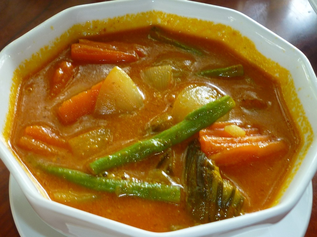 Vegetable Khmer Curry