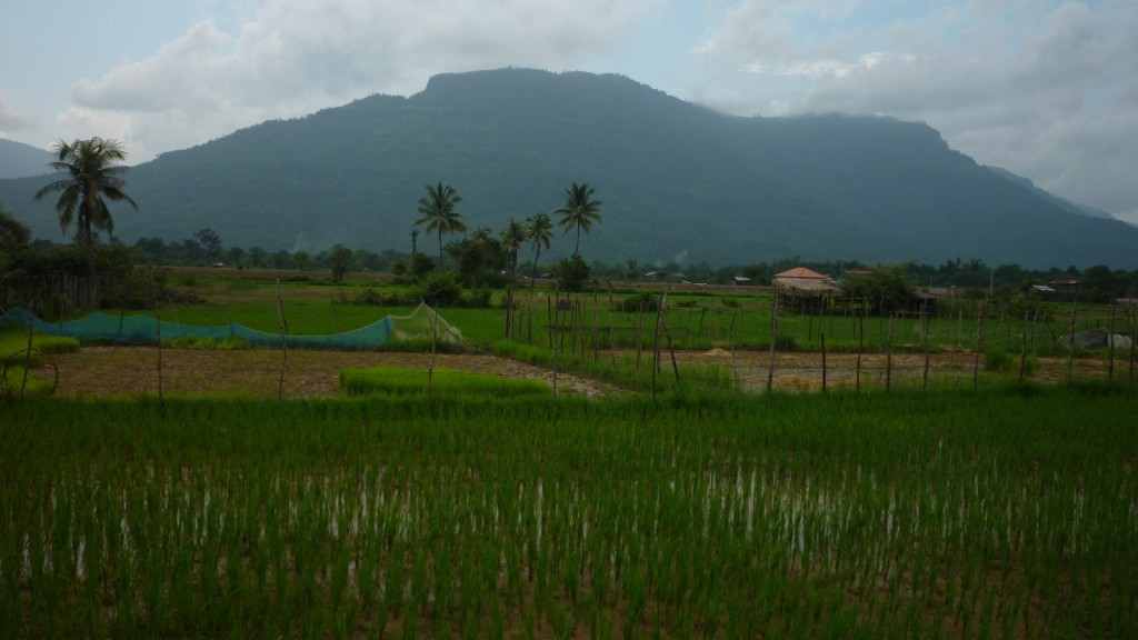 Rural Laos countryside