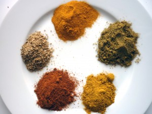 Dry Powdered spice of the Indian Fundamental sauce