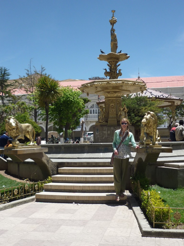 Oruro and its monuments of gold