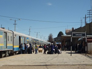 Oruro train station