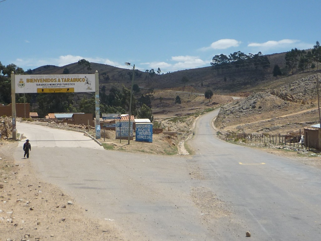 Welcome to Tarabuco in central Bolivia