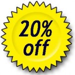 20% off sharing the world local food