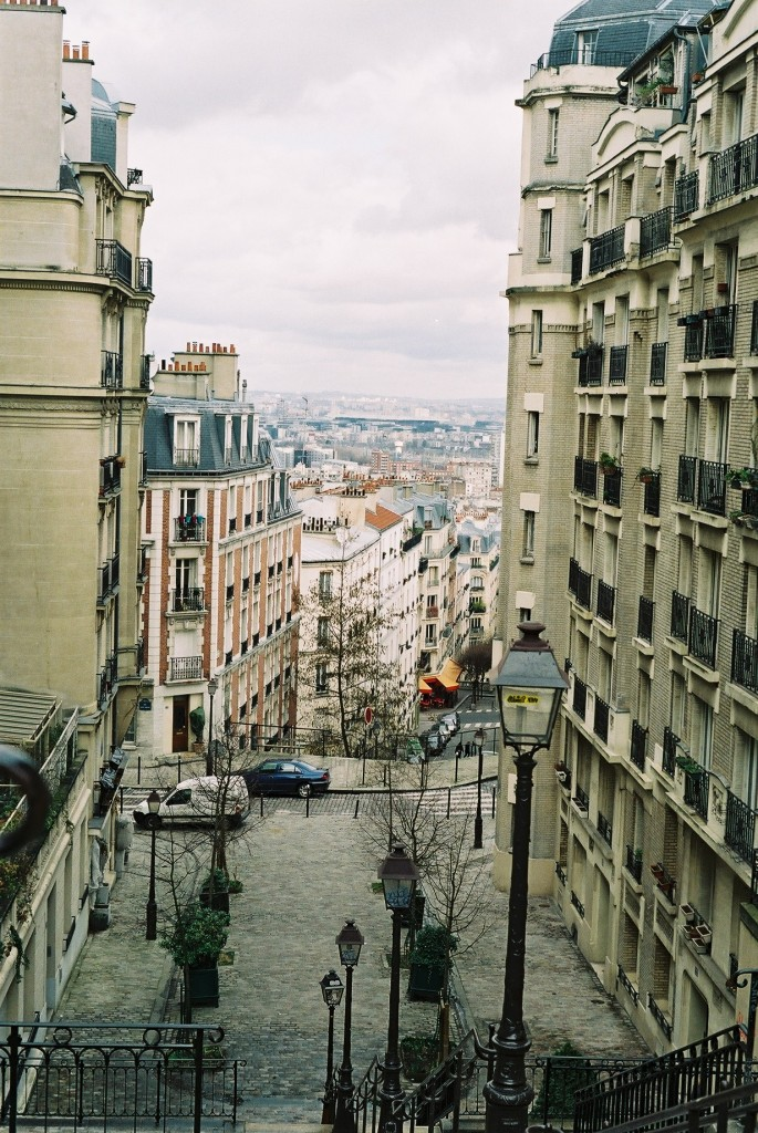 View from the Sacre Cour in Clignancourt