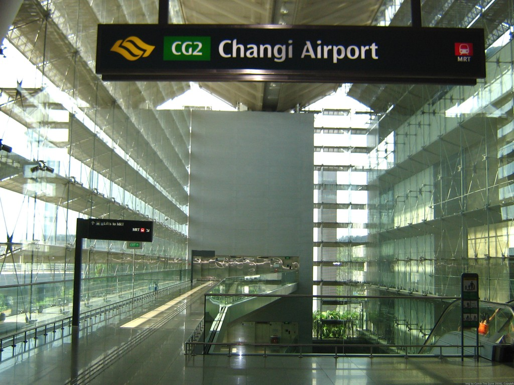 Changi Airport Terminal 2 entrance 1024x768 Photo from asia  in Singapore the most popular tourist destination in South East Asia