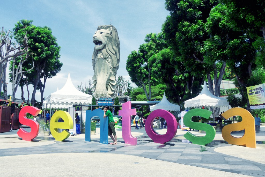 Sentosa 1024x684 Photo from asia  in Singapore the most popular tourist destination in South East Asia